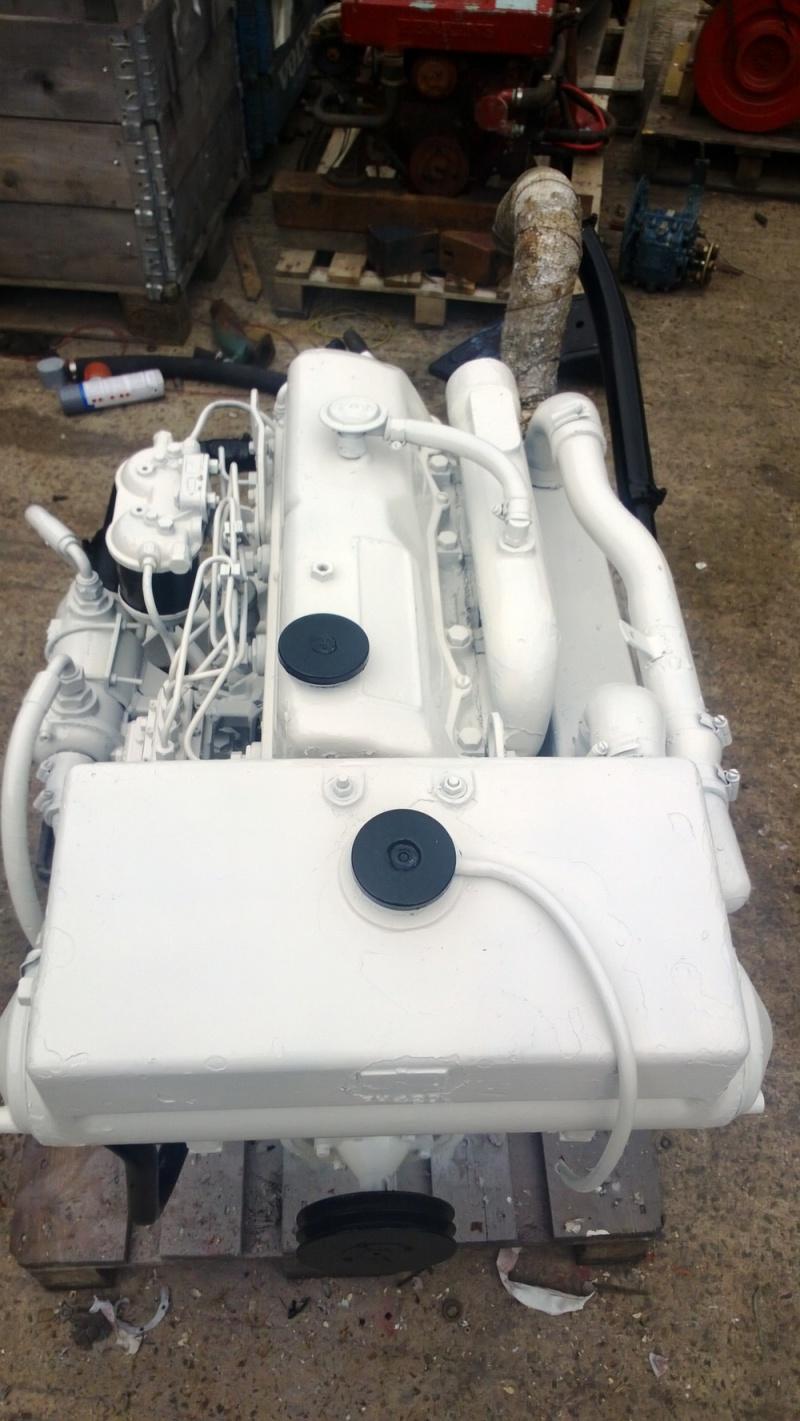 Ford Mermaid Melody 88hp Marine Diesel Engine & PRM Gearbox