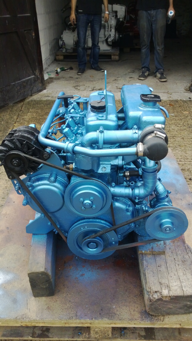 Thornycroft T108 47hp Marine Diesel Engine Package