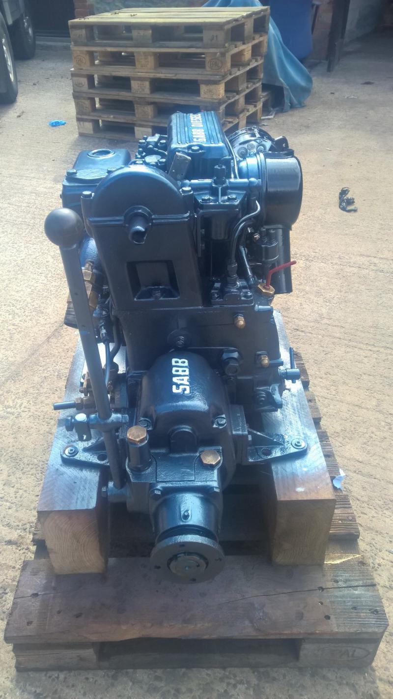 SABB 2HG 18hp Marine Diesel Engine Package
