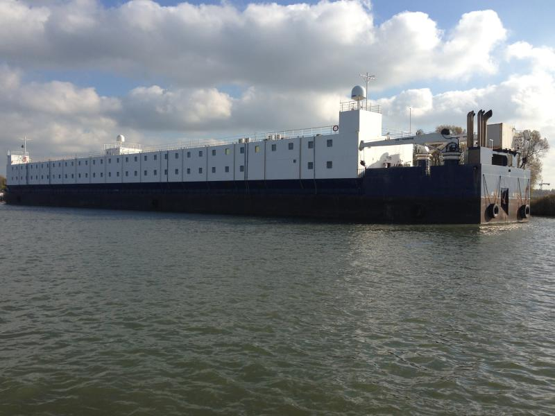Accommodation Barge For Charter