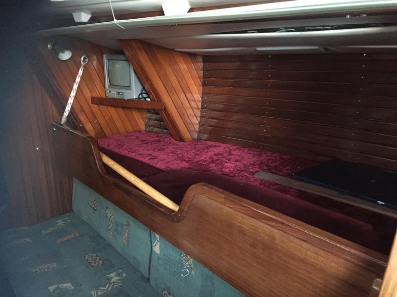 Noray 38 yacht