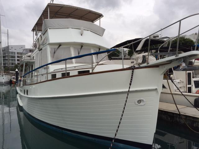 COLLECTIBLE GRAND BANKS 57 EUROPA  2019 YEAR GENERAL RENOVATION
