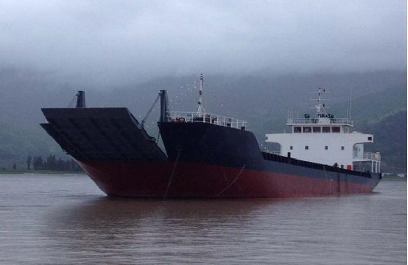 2800DWT LCT Self Propelled Barge