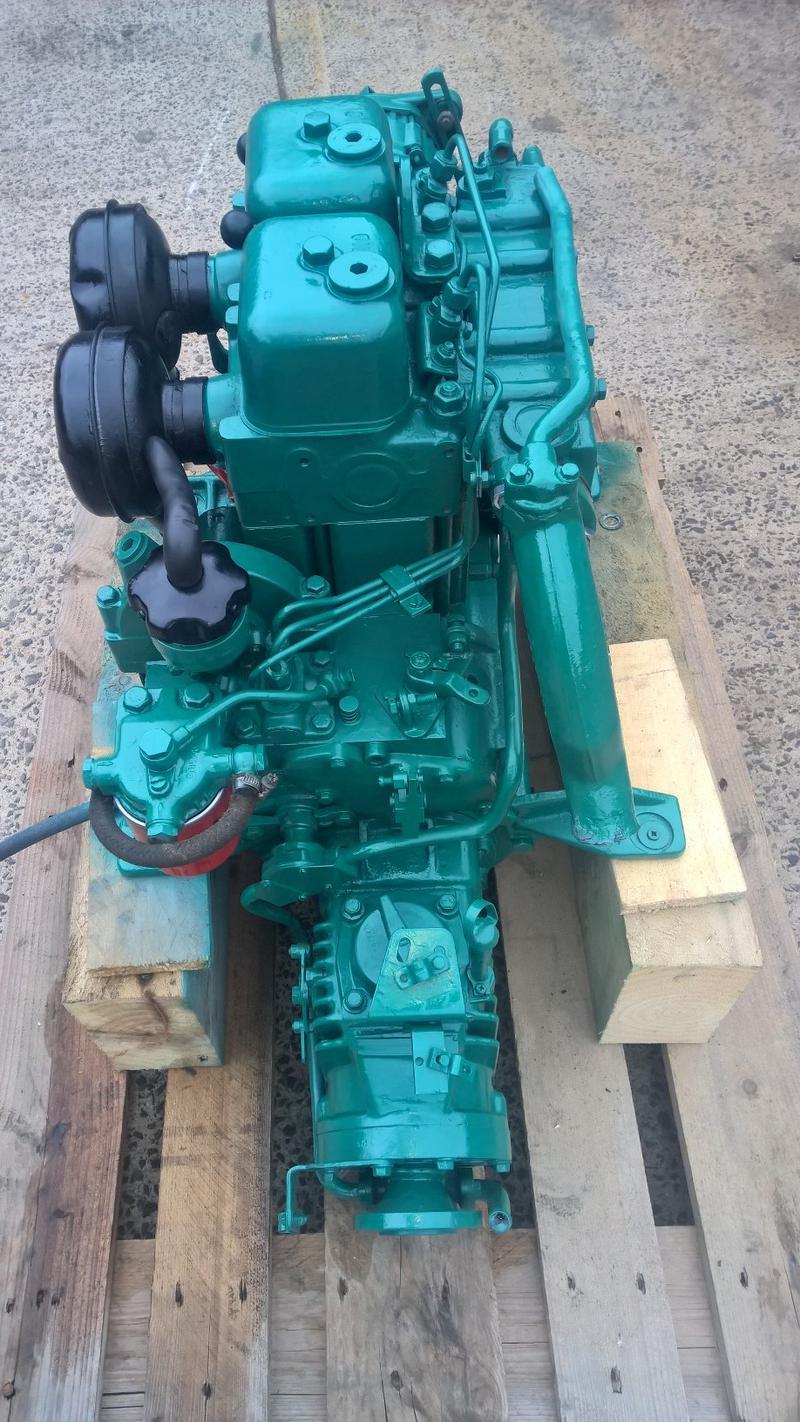 Volvo Penta MD11D 25hp Marine Diesel Engine Package