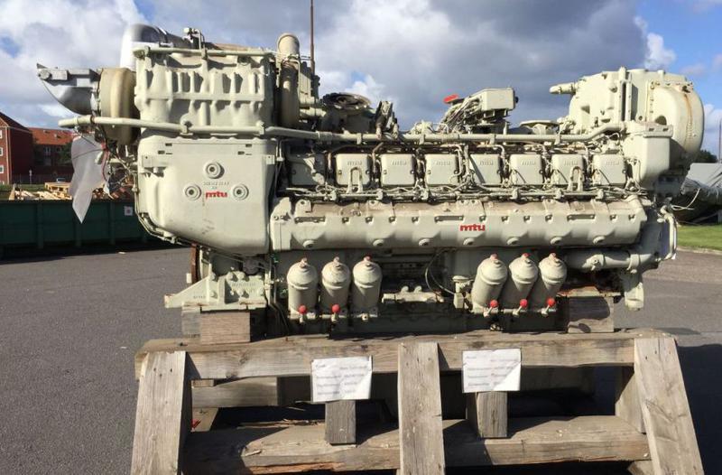 MTU 16V396 for sale Norway, MTU Used boat sales, MTU Engines