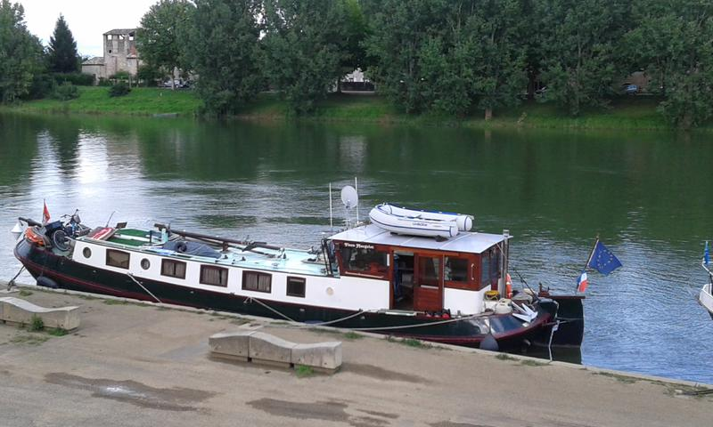 17,70m Tjalk twin engines, to cruise all waterways