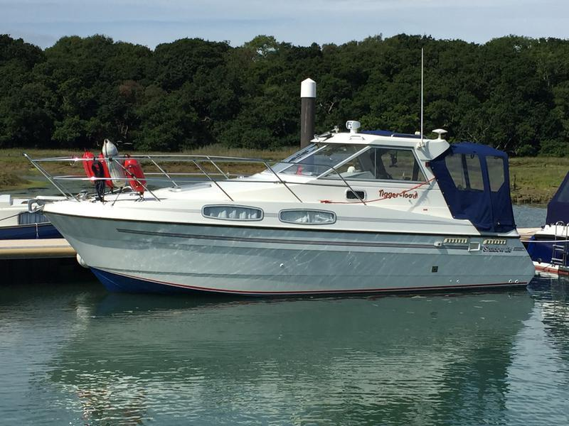 Shadow 26 Motor Cruiser. Isle of Wight