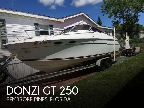 Donzi 250 GT for sale USA, Donzi boats for sale, Donzi used