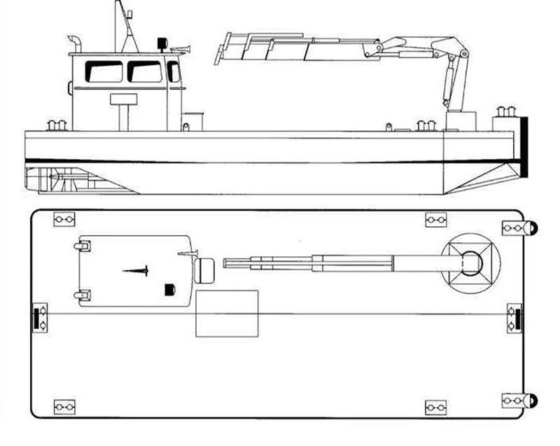 1976 WORK BOAT 14.06 m Only For Charter