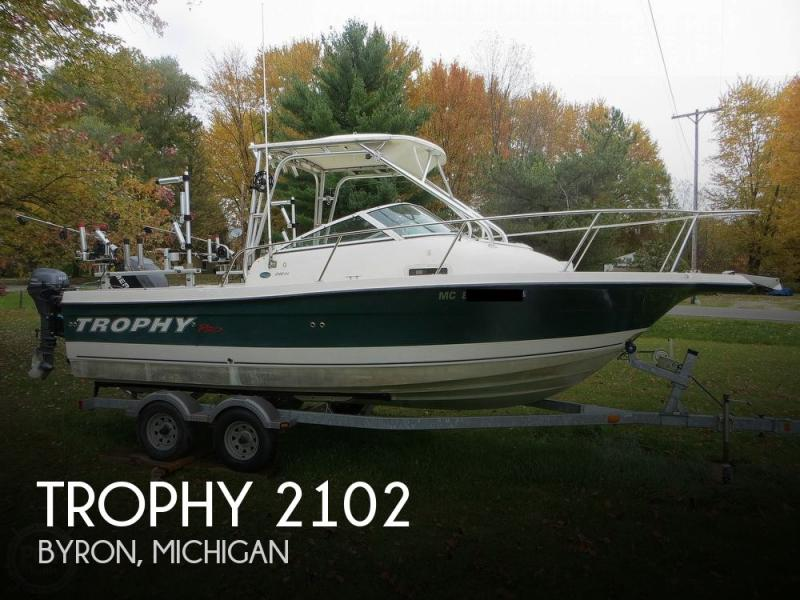 Trophy 2102 For Sale Usa Trophy Boats For Sale Trophy Used Boat
