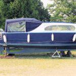1956 26' x 10' x 3' Steel Inboard Cruiser