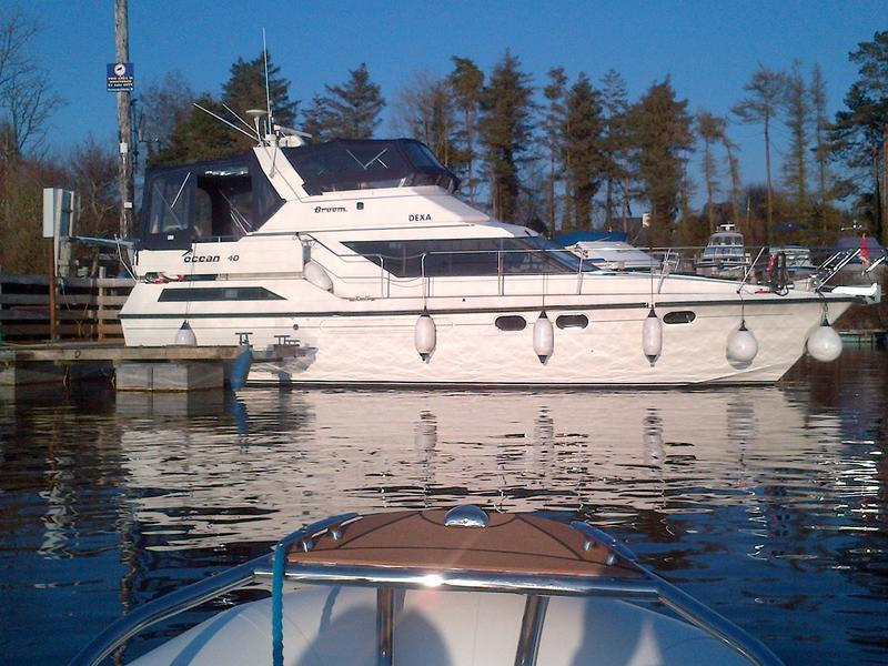 Motor boats for sale Ireland, used motor boats, new motor cruiser