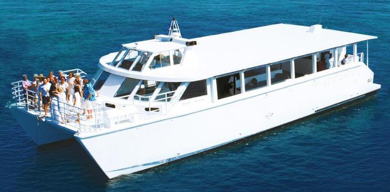 Tourist day cruiser or passenger transfer ferry