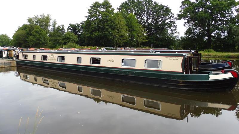 70ft Exhire Steel Narrowboat 'Arthur'