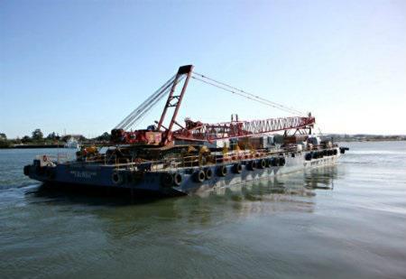 180ft x 70ft x 14ft DECK Cargo Ballast Tank Barge