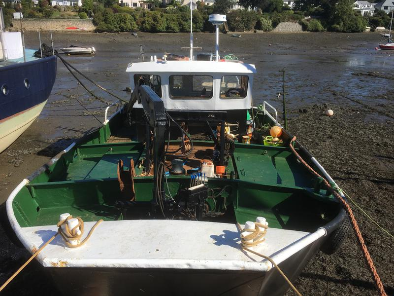 10 metre steel work boat