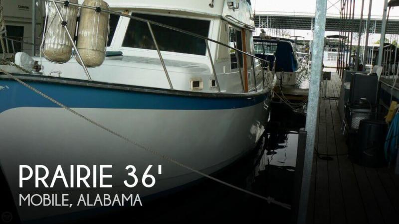 Prairie 37 Trawler for sale USA, Prairie boats for sale
