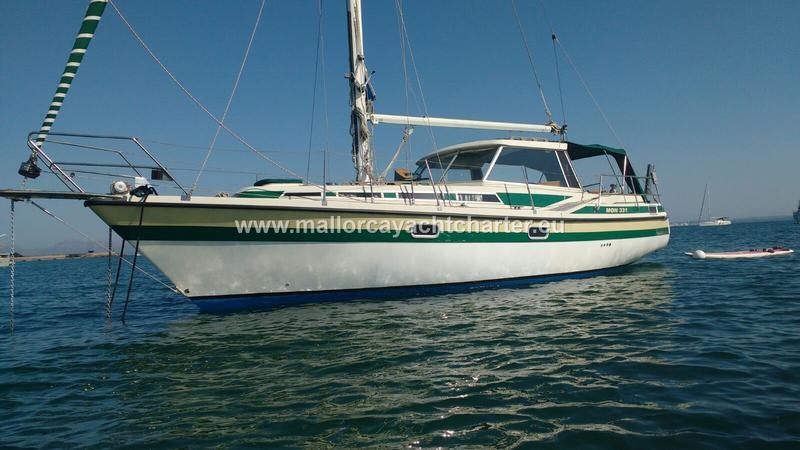Mon 331 Danish motor sailing yacht