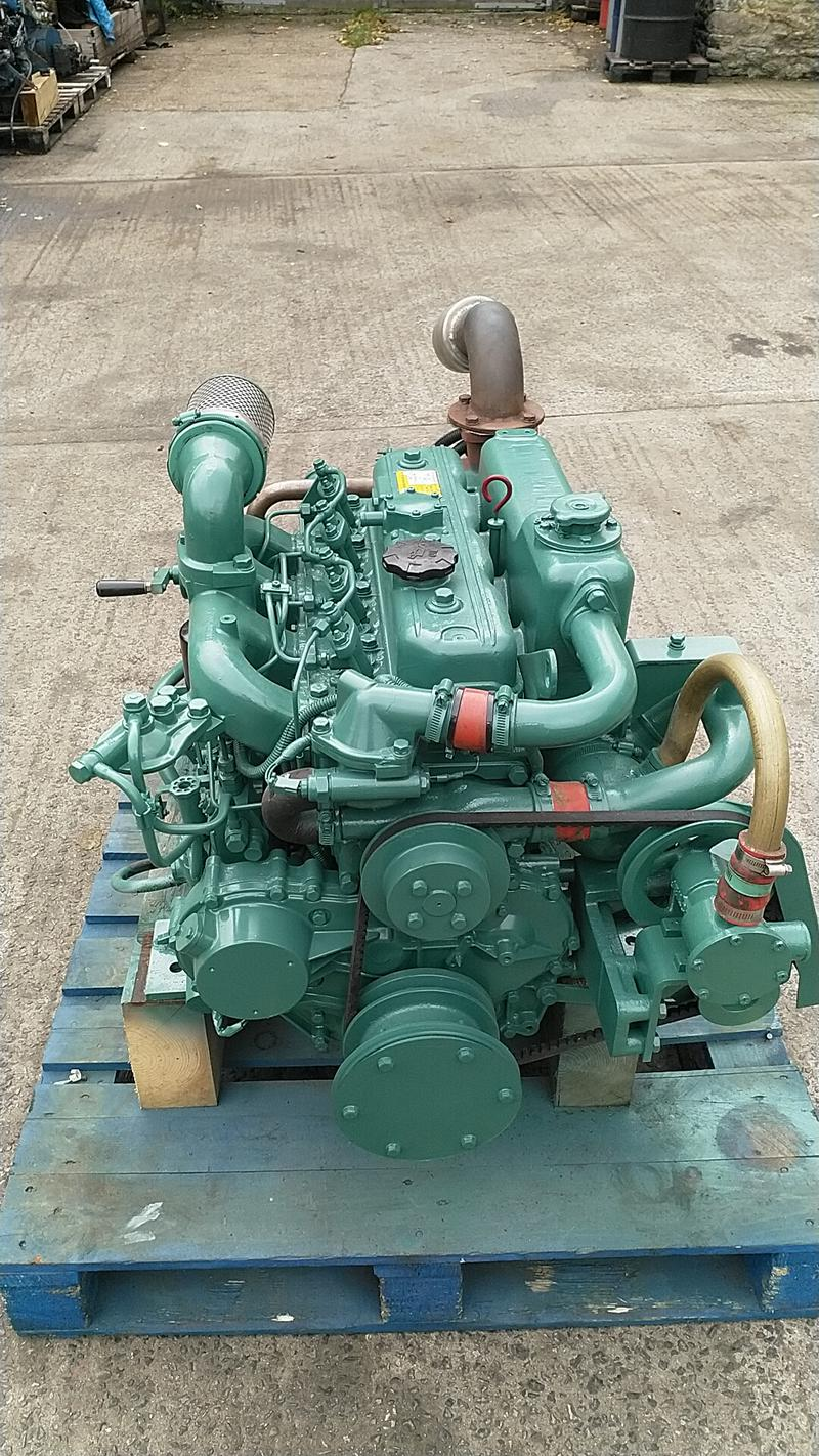 Doosan L034 70hp Marine Diesel Engine Package - TWO AVAILABLE