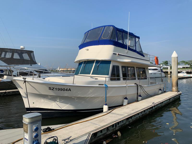 42' MAINSHIP  LIVEABOARD  FULLY RENOVATED