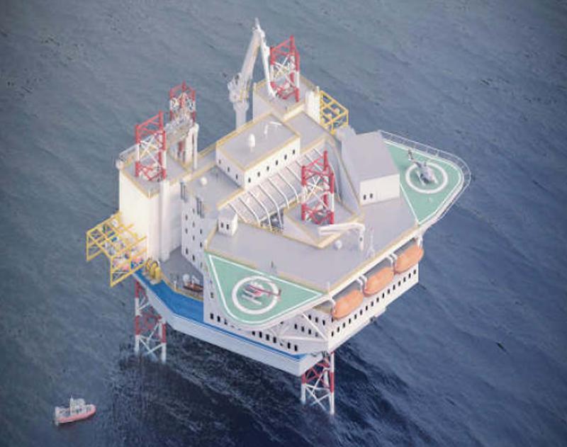 180p JU Accom / Work Barge