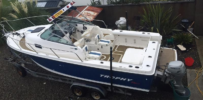 Trophy 2325 WA for sale Ireland, Trophy boats for sale, Trophy used