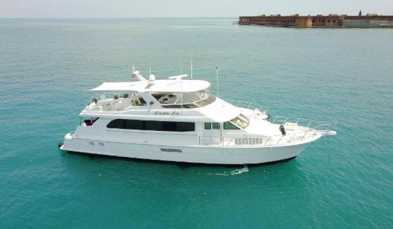 Hatteras 75 Motor Yacht for sale USA, Hatteras boats for