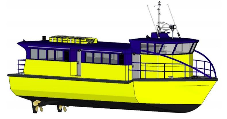 NEW BUILD - 17.2m Aluminium Passenger Ferry - Available Now