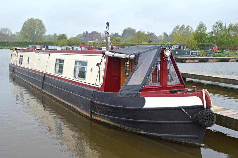 55ft Semi-Trad Stern Narrowboat