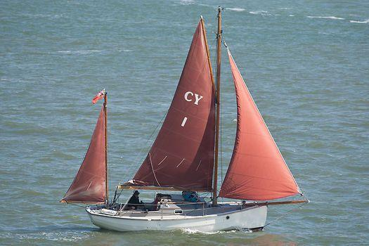CORNISH CRABBERS YAWL 'REDUCED' TOTAL REFIT HALTED DUE TO INJURY