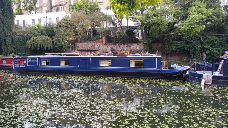 Soporific 57ft cruiser stern narrowboat