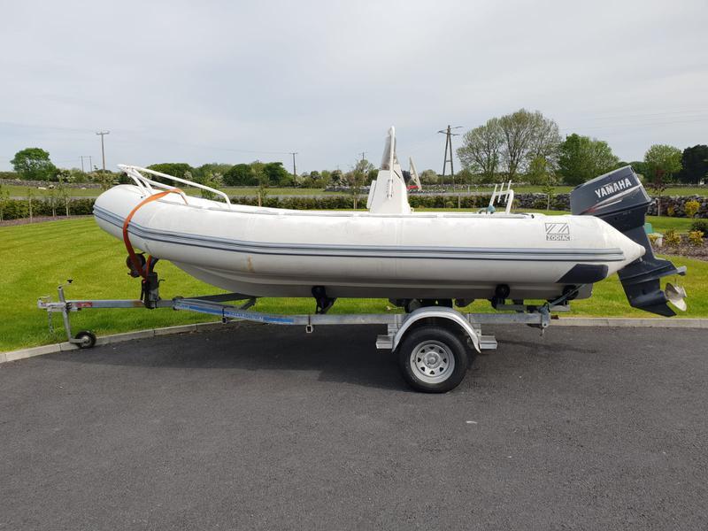 Zodiac Yachtline 530 for sale Ireland, Zodiac boats for sale, Zodiac