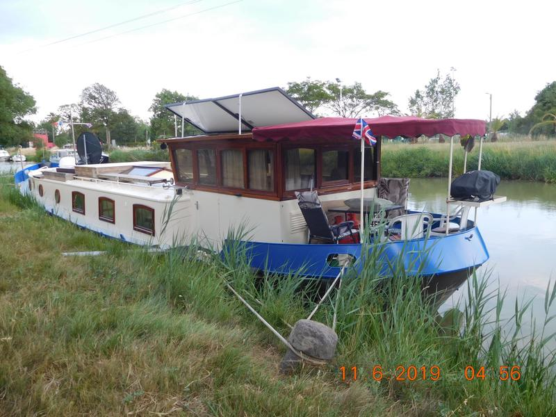 REPLICA DUTCH BARGE BUILT 2005
