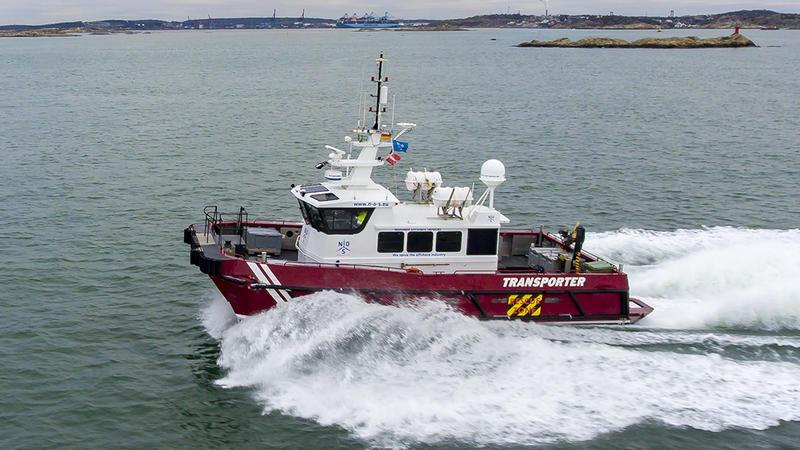 Aluminium catamaran Transporter