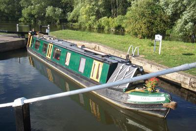 'Maid of Oak' - unique 57' wooden narrow boat