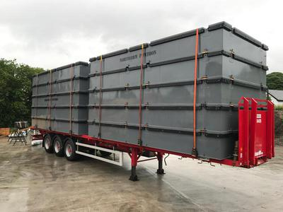 Multi-Float Modular Floating Pontoons - Work Barges - Hire Or Purchase