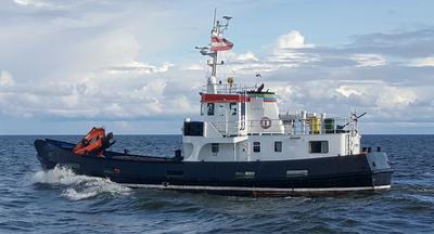 BEST PRICE!!! Multipurpose Work Boat 24m. All new Class Certificates.