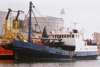 Ex MOD Salvage   Dive support   cargo houseboat  fishfarm  REDUCED