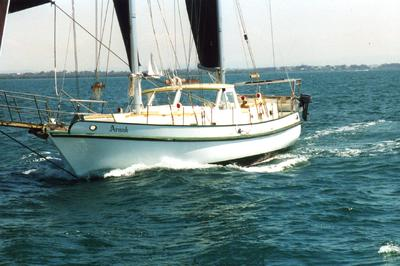 45ft liveaboard cruising yacht