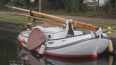 Beautiful Dutch sailing barge