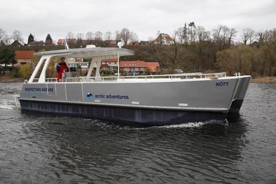 Electric passenger catamaran New