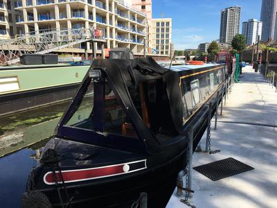 60ft Narrowboat with Residential Mooring in London