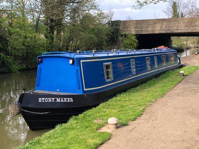 Durham Steelcraft 55ft 6 Birth Cruiser Stern