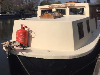 Live aboard converted lifeboat. 31' 11'