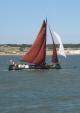 A Beautiful working sailing barge