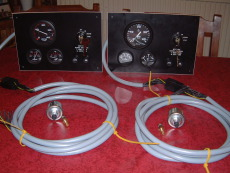 Custom made instrument panels