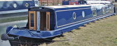 57ft Marbury Narrowboat (Reverse Layout)