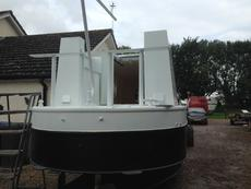 55FT SEMI TRAD NARROW BOAT SHELL