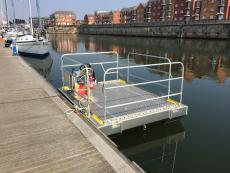Self Propelled Pontoon
