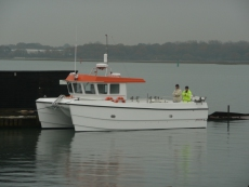 Catamaran Fishing Vessel